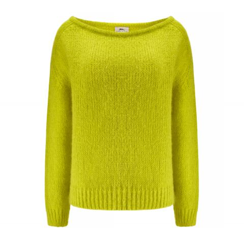 BUNNY THE STAR Sweter Sky Lime 730 PLN