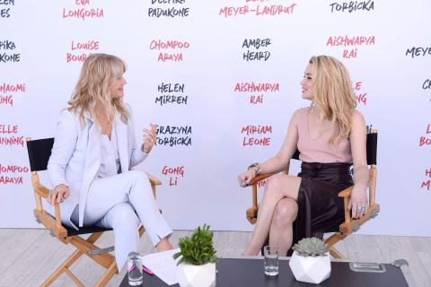 L'Oréal Paris x CANNES INTERVIEWS Amber Heard