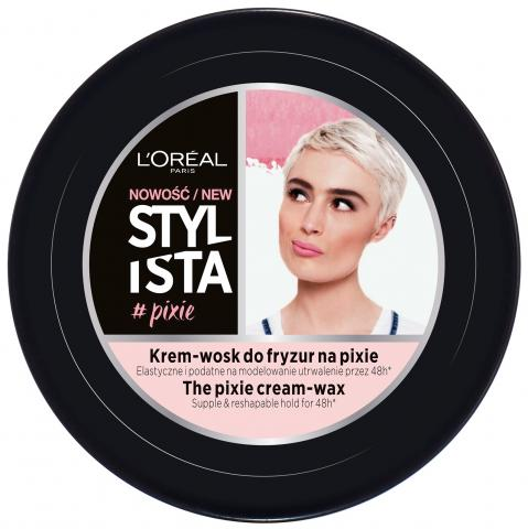 STYLISTA Krem-wosk do fryzur  #PIXIE